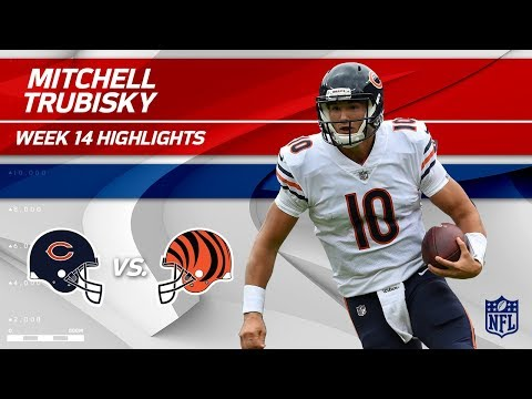 Video: Mitchell Trubisky Leads His Team to a Big Win vs. Cincy! | Bears vs. Bengals | Wk 14 Player HLs