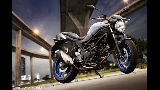 3. 2017 Suzuki SV650 Road Test