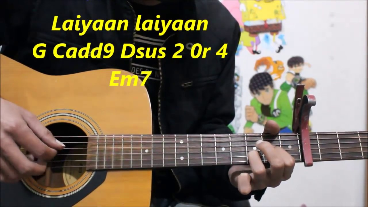 2018 Year  4 Chords 10 songs Em D C G Simplest  – Hindi Guitar Beginners Easiest  chords