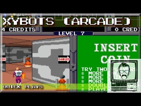 Xybots - Arcade; Quickplay | Nostalgia Nerd