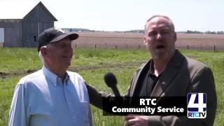 RTC Community Service - Peterson Fence Donation