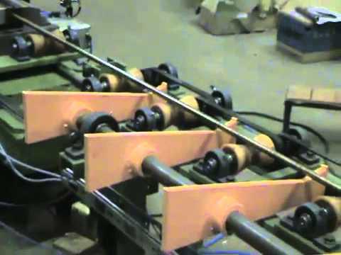 Ciclo de biselado y corte de barra 17 mm TIEMPOS MEJORADOS