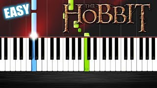 Misty Mountains - The Hobbit - EASY Piano Tutorial