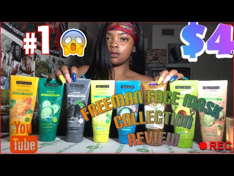 Freeman Masks Collection Review