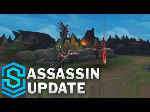 Video cập nhật và chỉnh sửa mới một số kỹ năng cho các sát thủ (Kata,Talon,Leblanc,Rengar)
