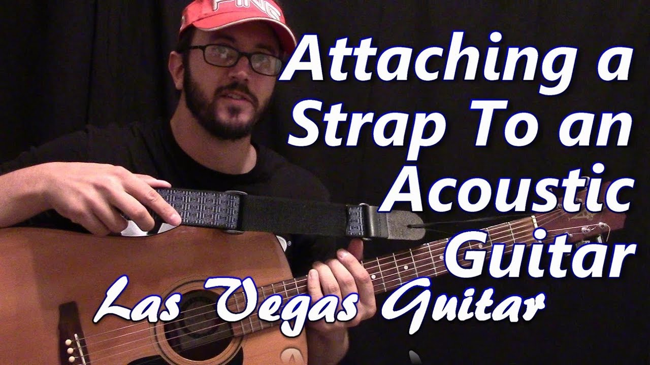 Attaching and Adjusting the Strap to an Acoustic Guitar