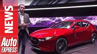 New Mazda 3 - stylish hatchback breaks cover at LA Motor Show by Auto Express