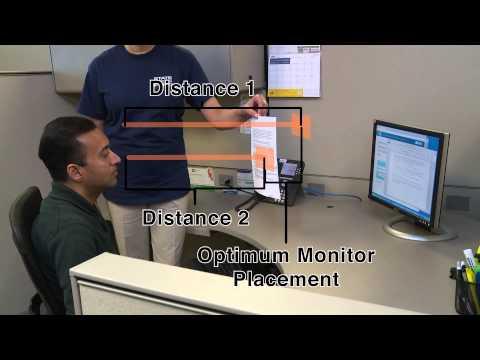 , title : 'Office Ergonomics - Monitor Placement'