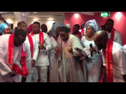 Taiwo +'Ayo Traditional Engagement In Uk