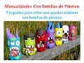 Botellas de plástico 7 Ideas para hacer juegos para niños