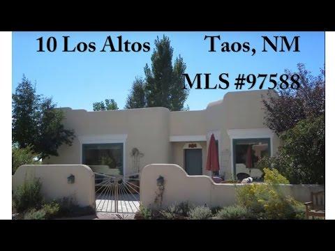 10 Los Altos, Taos, NM 87571 MLS #97588