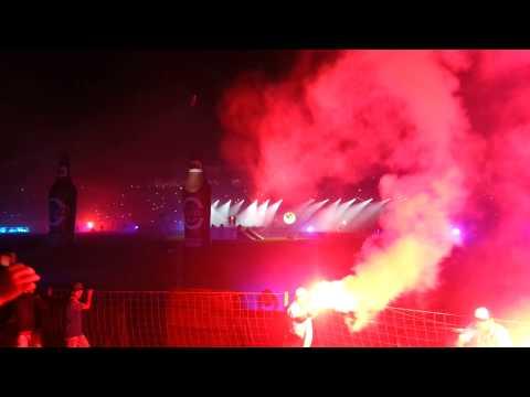 Así se vivió la noche blanquiazul 2014 - Comando SVR - Alianza Lima