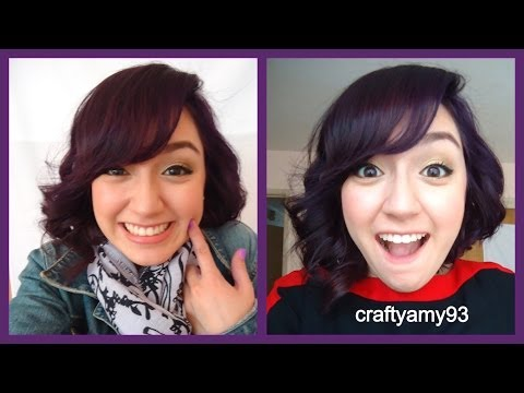 how to get dark purple hair