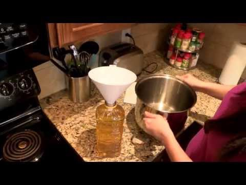 How To Easily Transfer Used Cooking Oil For Recycling