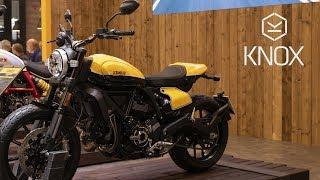 3. Ducati Scrambler 2019 Cafe Racer - Full Throttle - Icon | Knox