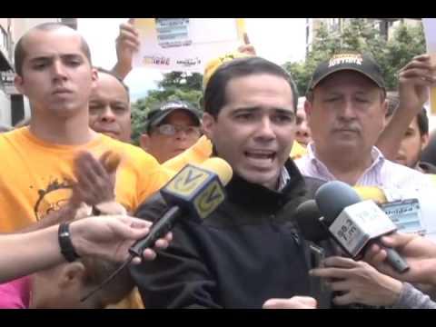 Ferrer: ' Enseñaremos a votar por la mesa de la unidad, en toda Venezuela'