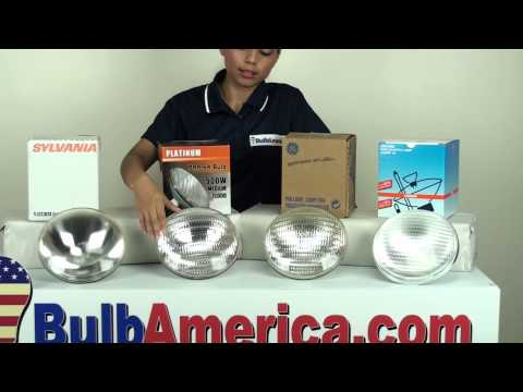 500 watt PAR64 light bulb differences