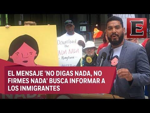 Tono de llamada para celular ayuda a migrantes en Chicago
