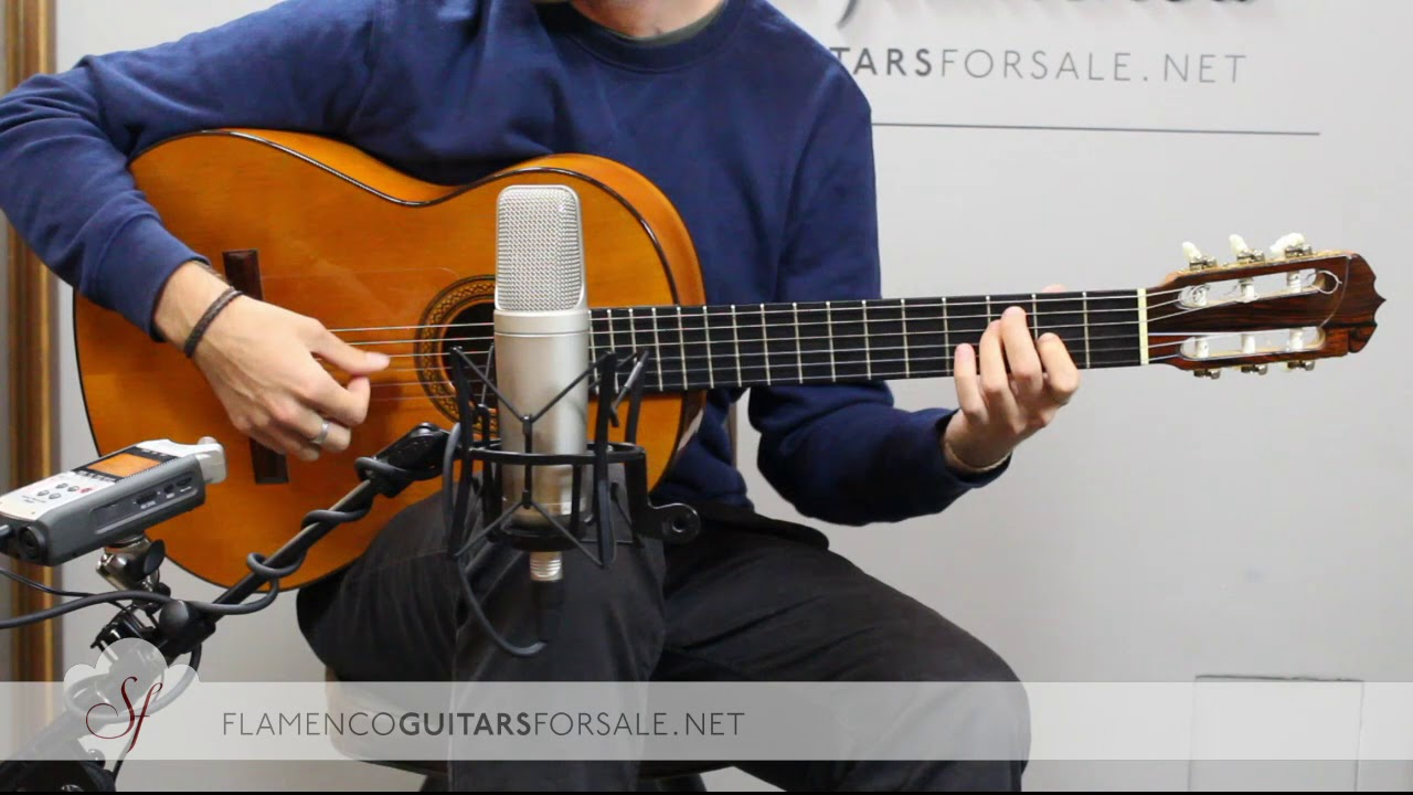 VIDEO TEST: José Ramírez 1968 J.G. flamenco guitar for sale