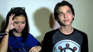 Yuki Kato dan Steven William Saling Sanjung