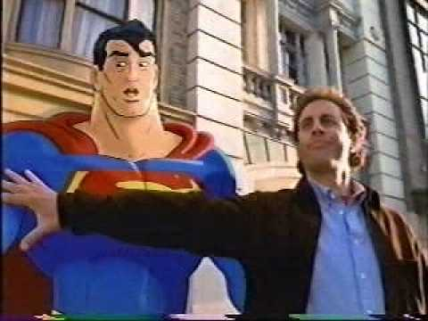 Banned Commercials - AMERICAN EXPRESS Seinfeld and Superman.avi