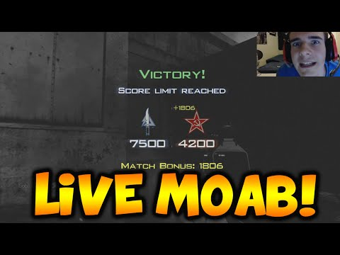 MOAB - COD Mw3 Live P90 Moab - Can we get 2000 Likes? Call of Duty Mw3 Moab Rage - http://youtu.be/irpRnpdFO-Q Click Here To Subscribe! ▻ http://bit.ly/GreenGoblinHD Follow my Twitter - http://www.twit...