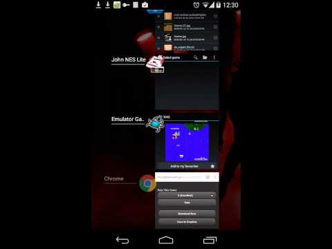 Video of Emulator Game List