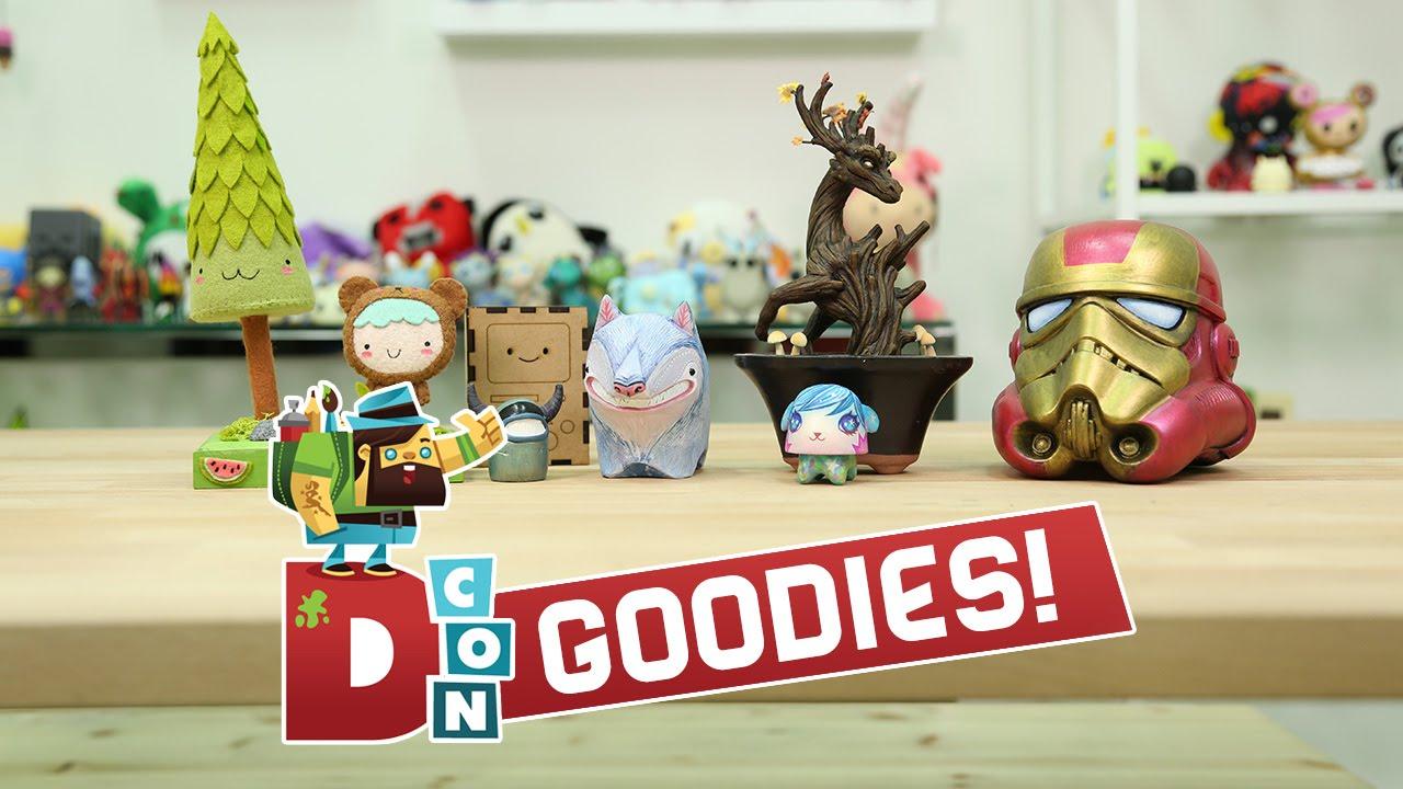 YETIS & CHIBIS! Designer Con 2015 Goodies!