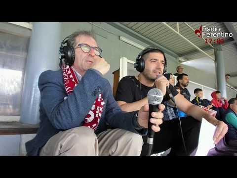 Incontro di Calcio Ferentino – Tecchiena, Primo Tempo.