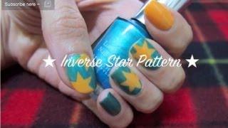 Nail : Inverse Star Pattern星星迷 星星美甲