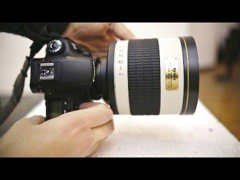 Weird lens reviews: Samyang 800mm f/8 Mirror, & 2x telecoverter (with samples)