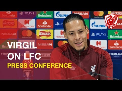 Virgil Van Dijk On Liverpool's Premier League & Champions League Hopes