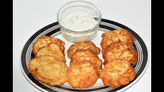 These Amish Onion Patties are a great alternative to Onion Rings. They give you all of the flavor of Onion Rings, but are much easier to make. This Amish Onion Patty Recipe was recommended by Headchefmom Kendall Lawrence and I have to say that this Recipe exceeded my expectations. Next time you are looking for a quick snack give these Amish Onion Patties a try. Ingredients for Amish Onion Patties Recipe: * 3/4 Cup Flour* 1 Tbsp Sugar* 2 Tsp Baking Powder* 2 Tsp Salt (to taste)* 1 Tbsp Corn Meal* 3/4 Cup Milk* 2 1/2 medium onions finely diced* Canola oil or any high temp cooking oilDirections*  Add all dry ingredients together and stir    well* Then add milk and onions and mix again* Heat skillet with a thin layer of cooking oil* Scoop batter into skillet with a 1 tablespoon scoop. You can use a    bigger scoop if you like* Cook until golden brown, then flip and cook until the other side is    golden brown* Place on paper towls, broiler pan, or anything that will allow the oil    to drain* EnjoyCheck Out Headchefmom Kendall Lawrence: https://www.youtube.com/channel/UCyoylsI6hiyb9OjhYZTkviQSubscribe: https://www.youtube.com/channel/UCFEYEmgRDiTZsE2cPfF2uOgFacebook: https://www.facebook.com/nohippiebbqhttps://www.facebook.com/lyle.whitlockTwitter: https://twitter.com/nohippiebbqGoogle+: https://plus.google.com/b/104776977338810471856/+NoHippieBBQCooking/posts?pageId=104776977338810471856Video URL: https://youtu.be/4LvW2oZ1U94 Amish Onion Patty Recipe By Headchefmom Kendall Lawrence: https://www.youtube.com/watch?v=9k8sRfxoFMo