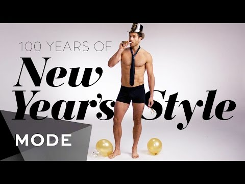 100 Years of New Year  s Eve Style