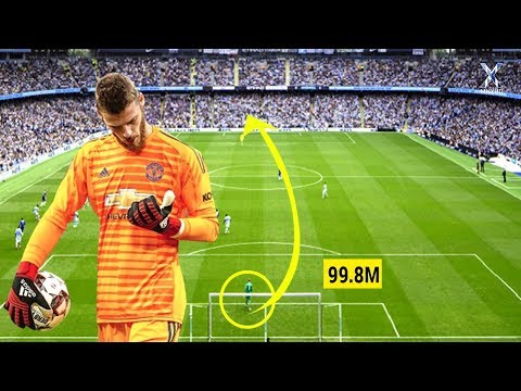 Longest Goals Scored by Goalkeepers