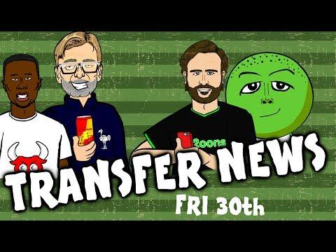 Keita to Liverpool? Hernandez to Spurs? Keane to Everton? TRANSFER NEWS #10!