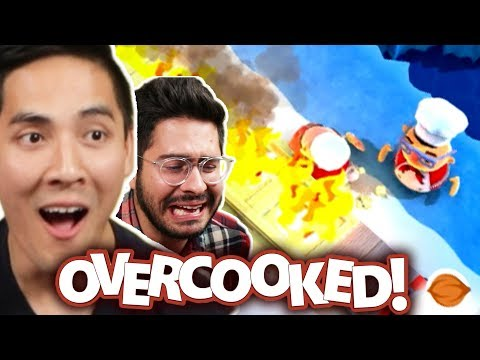 "We Ruin Our Friendship Playing Video Games • ""Overcooked"""