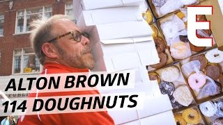 Alton Brown Gives An Emergency Call-Out To Rhode Island For Doughnuts — On Tour WIth Alton Brown by Eater