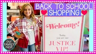 Karli had so much fun at her VIP Shopping Experience at Justice. You can shop Justice at http://shopjustice.com for the latest Back to School styles! #justic...