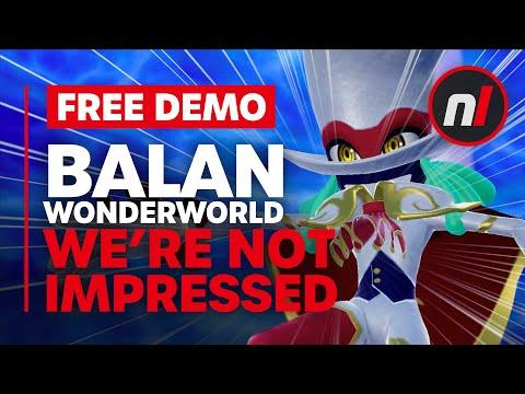 Balan Wonderworld Demo - We're Not Impressed