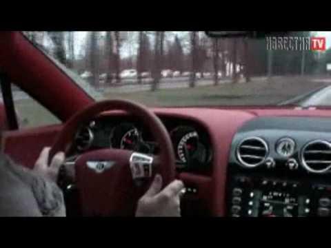 Bentley Continental GT Тест Bentley ч.3