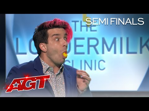 Brett Loudermilk Attempts an AGT FIRST With a Surprising Reveal! - America's Got Talent 2020