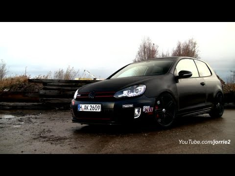 LOUD VW Golf VI GTI w/ XBM Tuning Exhaust Sound!! – 1080p HD