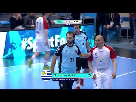 Pan Am 2018: Uruguay vs Greenland (1:2) KNR 2018-06-18