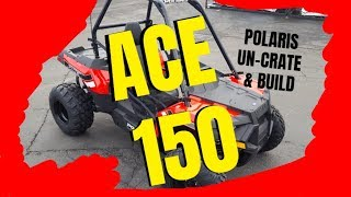10. Polaris ACE 150 unboxing