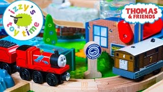 Thomas and Friends   Thomas Train with James Fishey Delivery with Brio   Toy Trains 4 Kids