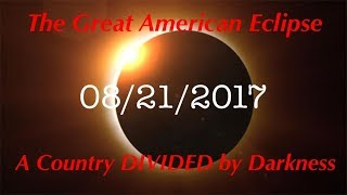 A Country Divided By Darkness... LITERALLY! The writing is on the wall, it's time to shine the light. Because YOU may not believe...