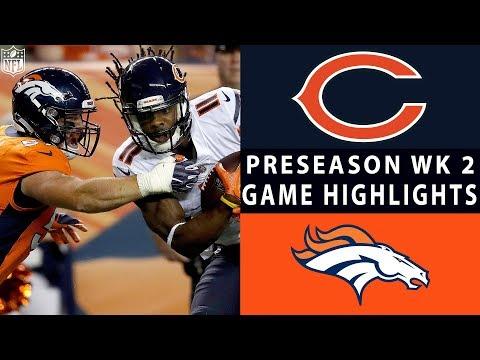 Bears vs. Broncos Highlights  NFL 2018 Preseason Week 2