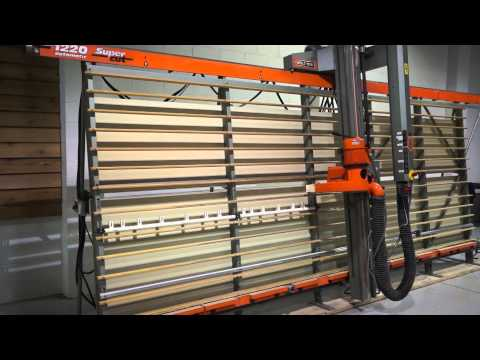 HOLZ-HER 1220 AUTOMATIC VERTICAL PANEL SAW