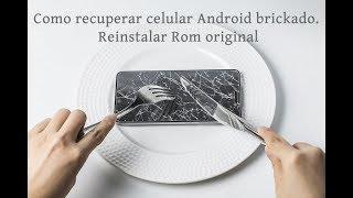 Como reinstalar a Rom original do seu celular Android Link para baixar Odin e roms originais :http://bit.ly/2tRJn0D